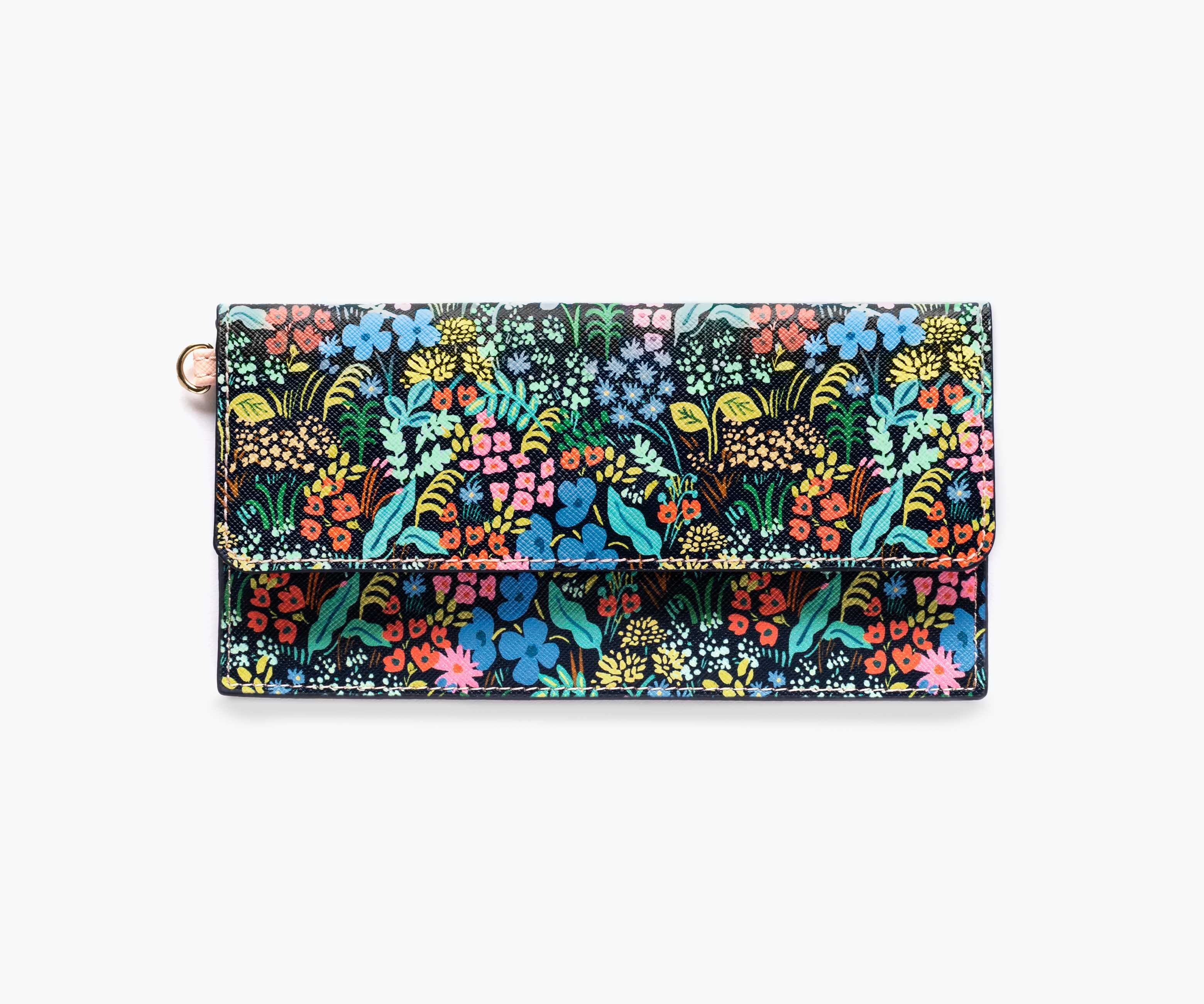 Teachers gift Floral pouch wristlet Rifle paper co Menagerie Tapestry Rifle paper co pouch wristlet Cotton and Steel pouch wristlet