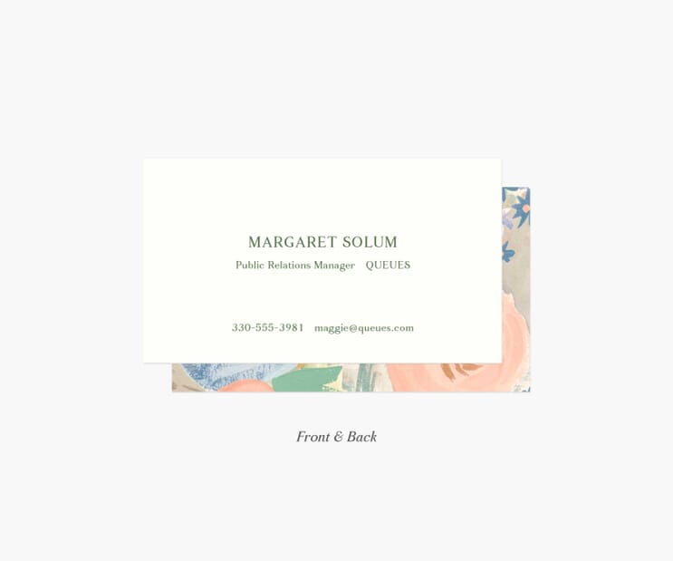 Personalized Business Cards- Luisa