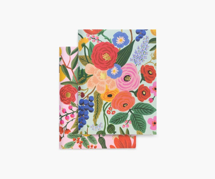 Garden Party Pocket Notebook Set
