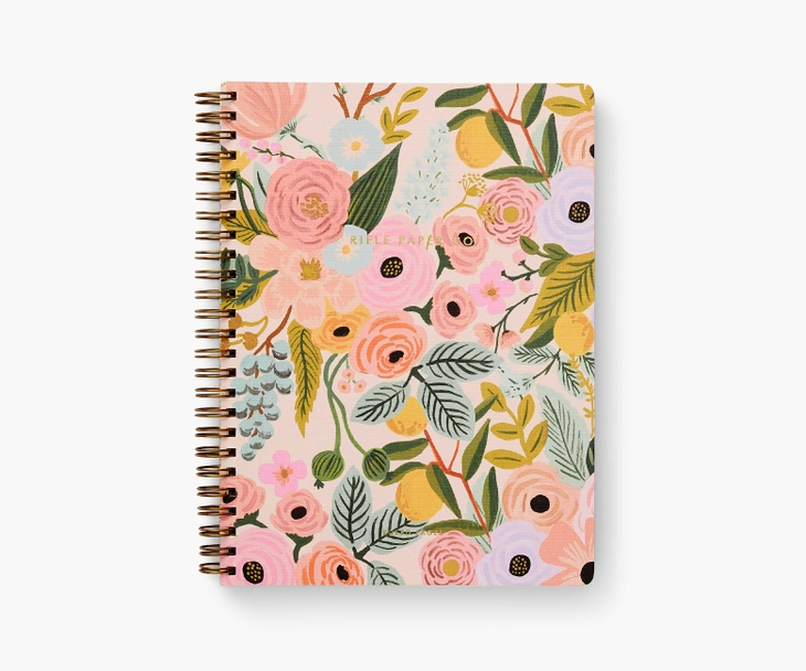 Rifle Paper Co. beautiful journal with floral design in pink on front. #journals #bestjournals #riflepaperco