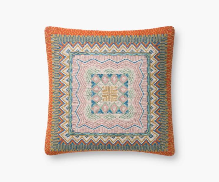 Mérida Woven Pillow-Multi