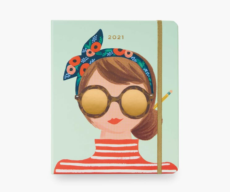 2021 Type A 17-Month Planner