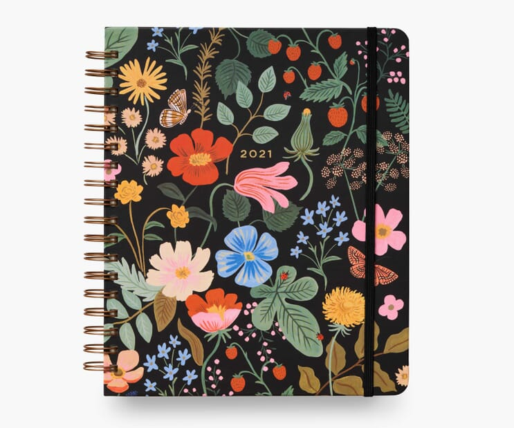 2021 Strawberry Fields 17-Month Large Planner