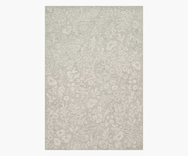 Marion Slate Wool-Hooked Rug