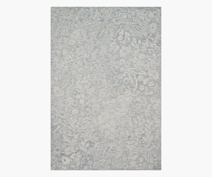 Marion Stone Wool-Hooked Rug
